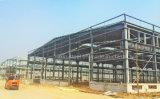 Industrielles Stahlkonstruktion-Werkstatt-Lager-Metalhalle-Gebäude