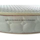 Mobiliario de dormitorio cómodo Colchones de bolsillo redondo resorte del colchón