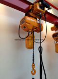 1ton Double Speed Hoist/Electric Chain Hoist con Hoist Trolley