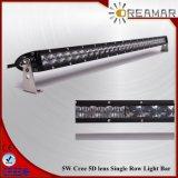 guide optique de rangée simple de CREE de lentille de 50inch 250W 5D