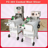 Rebanadora cocinada del corte desigual de la carne de la carne de vaca del acero inoxidable