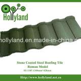 Mattonelle di tetto d'acciaio rivestite della pietra di alta qualità (mattonelle romane)