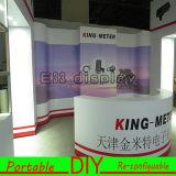 Projetando a cabine de alumínio modular portátil da feira profissional do carrinho do frame