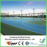 De openlucht RubberVloer van de Sporten van het Type van Bevloering voor Futsal, Basketbal, Volleyball, Handbal, Tennisbaan