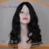 Парик женщин чисто волны человеческих волос девственницы глубокой Silk верхний