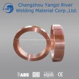 Aws EL12の銅の上塗を施してある補助的なアーク溶接ワイヤー (SAWW)3.2mm