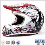 Холодный красный спайдер ECE Motorcross/с шлема дороги (CR405)