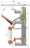 Interruttore di rottura di caricamento di alta tensione dell'unità di combinazione di Yfn5-12r (t) D/125-31.5-Fuse