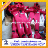 Agua Proof SOLAS Marine Immersion Suit para Sale