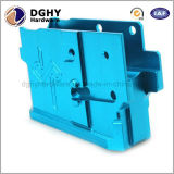 Fresado de piezas de fábrica de China por encargo de la alta precisión del color anodizado de aluminio CNC