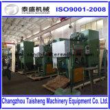 Machine van het Zandstralen van de Buis van het staal de Stofvrije voor de Draad van de Pijp