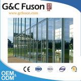Энергосберегающая алюминиевая стеклянная ненесущая стена