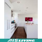 Mobília branca do gabinete de cozinha do PVC do MDF (AIS-K006)