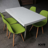 Modern Furniture Solid Surface Stone Restaurant Dining Table