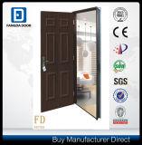 Дешевая внешняя дверь металла с стальной рамкой