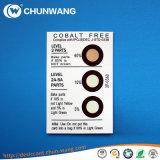 Blad van de Indicator van de Vochtigheid Hic van de Vacuümverpakking van de Levering van de fabriek het kobalt-Vrije