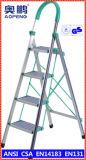 강철 가구 단계 발판 연장 궁극적인 알루미늄 망원경 사다리 (AP-2504)