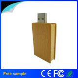 Mecanismos impulsores de madera modificados para requisitos particulares del USB de la dimensión de una variable del libro de la insignia 8GB