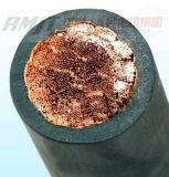 Fio Sheathed do cabo da soldadura 70mm2 do condutor borracha de cobre flexível