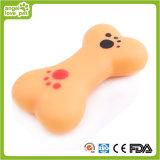 Vinylknochen-Form-Hund, der Spielwaren (HN-PT323, klingt)