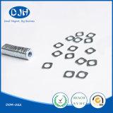 Ni-Beschichtung spezielle Größe gesinterter NdFeB Magnet (DOM-002)