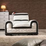 Assento do sofá do couro artificial único (862)