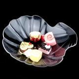 Assiette Shaped de Cowry de soucoupe remplaçable en plastique en disque