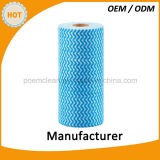 Универсальная ткань чистки крена Spunlace Nonwoven