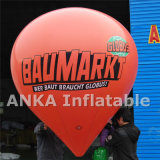 Globo promocional del PVC para el anuncio inflable al aire libre