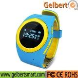 GPS van Gelbert het Plaatsende Bejaarde Sos anti-Verloren Slimme Horloge van Kinderen