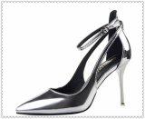 Zapatos de lujo de las señoras nupciales de los zapatos del Alto-Talón de los vestidos de boda de las mujeres