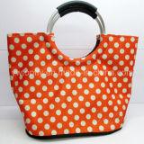 Kundenspezifische Werbe-Freizeittasche Strandtaschen mit Aluminium-Rundgriff