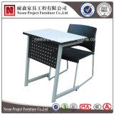 단순한 설계 학생 책상과 의자 좋은 품질 교실 가구 (NS-KZ07)