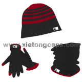Warmes Set, Vlies-Set, Hut, Handschuh, Snood