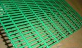PVC beschichtetes geschweißtes Zaunineinander greifen des Ineinandergreifens des Maschendraht-Panels schützendes quadratisches
