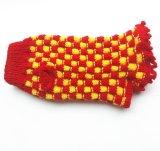 Personalizados a mano de punto Productos para Mascotas de ropa para perros de la raya suéteres Cardigans