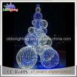 عيد ميلاد المسيح زخرفة لون قرنفل [3د] خارجيّ [لد] عيد ميلاد المسيح كرة شجرة ضوء