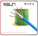 Câble du câble LAN 23AWG UTP CAT6 avec la jupe de LSZH/Lsoh (cuivre nu solide)