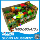 De Plastic BinnenSpeelplaats van jonge geitjes (ql-3024A)