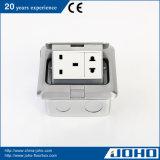 Ce van de Contactdoos van de Grond van de Contactdoos van de Vloer van het aluminium ElektroIP44