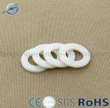 Rondelle en nylon en plastique isolante blanche
