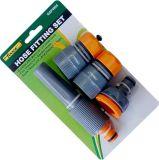 Suprior ABS manguera de jardín Conjunto de montaje con el conector de la manguera, adaptador, la boquilla