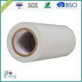 Fita branca da isolação do PVC da boa qualidade com incêndio - retardador