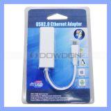 Mikro-Mann USB-2.0 zum weiblichen RJ45 Ethernet-Netzwerk LAN-Adapter-Kabel für Tablette PC