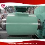 PPGI prepintó el material de construcción de acero galvanizado de la bobina