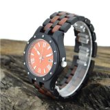 OEMのメンズウォッチの黒檀のPaorosaの腕時計の高品質の腕時計