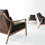 (SD-2008) 현대 호텔 대중음식점 거실 가구 나무로 되는 여가 의자