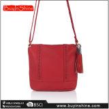 赤いふさの十字ボディ女性ハンド・バッグ