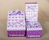 Handmade Paper Gift Box 또는 Bow를 가진 Packing Box/Packaging Box