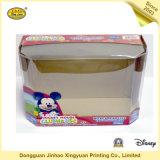 Ratón color caja de embalaje con ventana UV